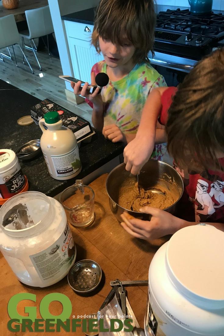 Making Organifi Protein Vanilla Waffles @GoGreenfields
