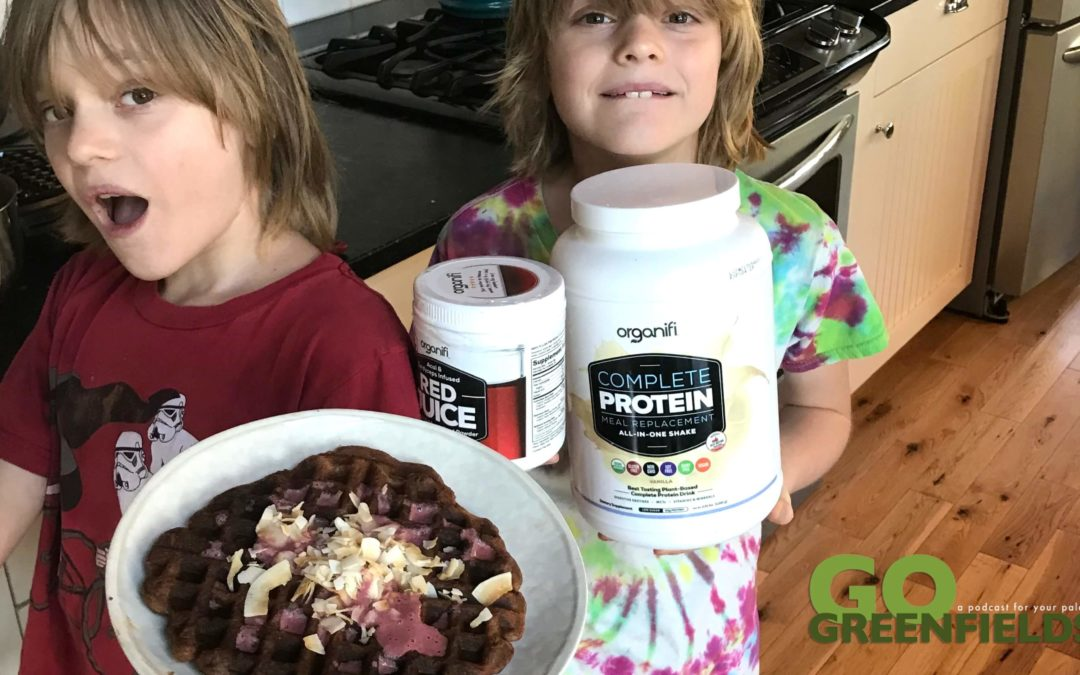 Episode 11 Organifi High Protein Vanilla Waffles