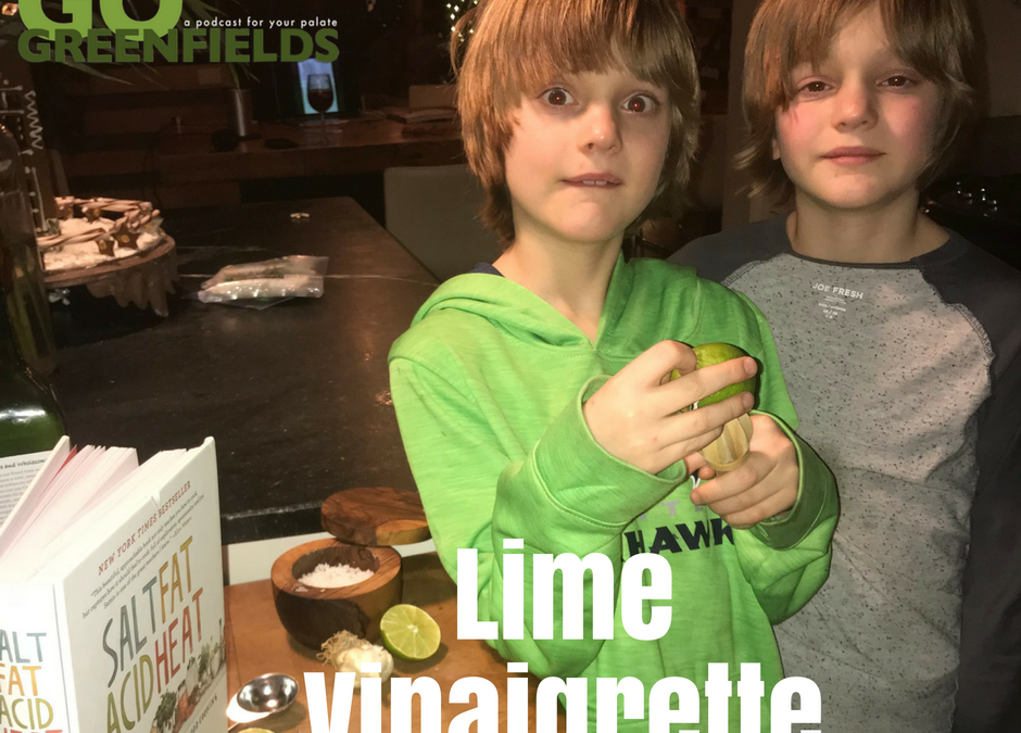 Terran and River Teach You How To Make A Lime Vinaigrette