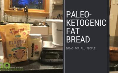 Paleo-Ketogenic Fat Bread