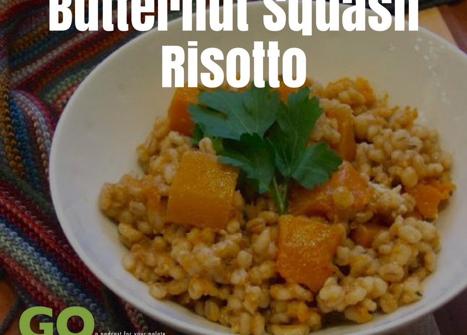 Terran and River Create A Delicious Butternut Risotto Dish