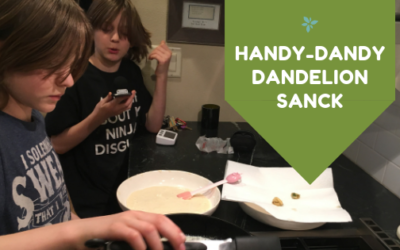 Handy Dandy Dandelion Snack