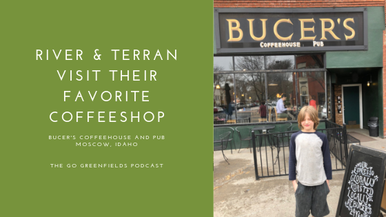 River & Terran Visit Their Favorite Coffeeshop: Bucer's in Moscow, Idaho